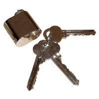 Låssylinder og nøkler - Krom