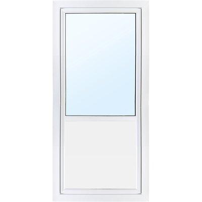 Balkongdør PVC 3-lags - Utoverslående - U-verdi 0,96