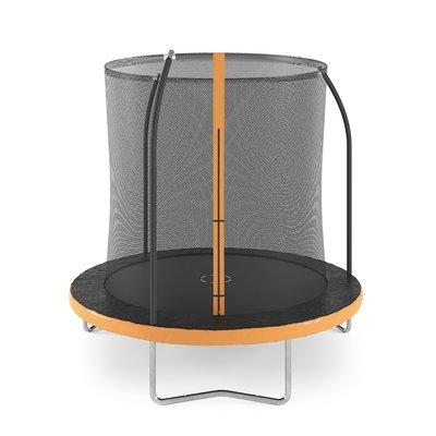 Trampoline med sikkerhetsnett - 245 cm