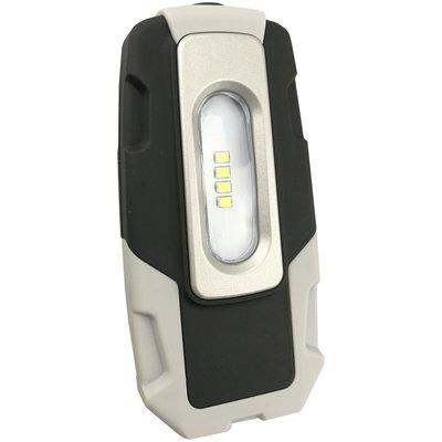 Håndlampa 200lm med nødladerfunksjon