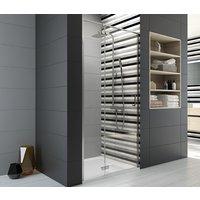 Free Line dusjdør - 6 mm glass (gavl og dør H 200 cm)