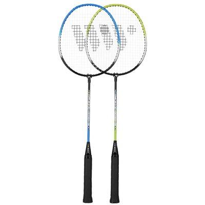 Badmintonsett (grønn, blå & svart) ALUMTEC 216K