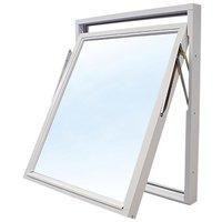 Toppsvingvinduer - 3-glass - Tre - U-verdi: 1,1