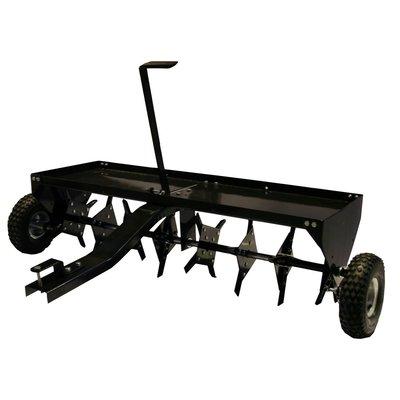 Jordlufter for hagetraktor/gressklipper