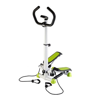 Steppmasking - Med treningsbånd og treningdatamaskin