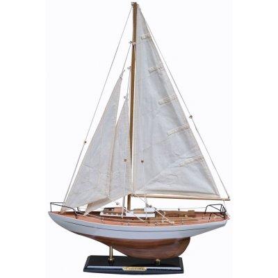 Modellbåt Concordia seilbåt - hvit