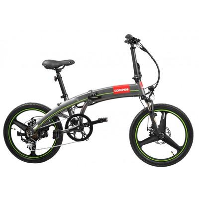 El-sykkel Compos - Sammenleggbar