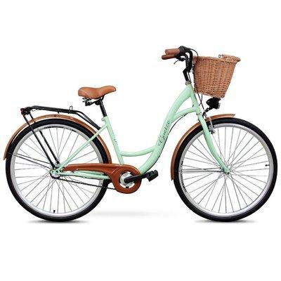 Classic sykkel 28« - 3 Brytere - pistasj