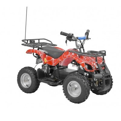 Rød firehjuling for barn