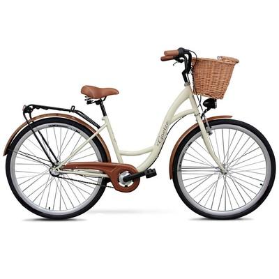 Classic sykkel 28« - 3 gir - kremhvit