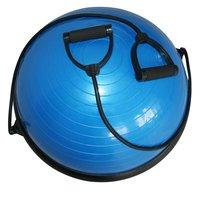 Balanseball - Halvklode med treningsband
