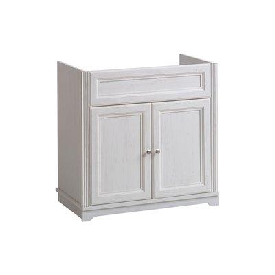 Underskap til vask, Palace, hvit 821 - 80 cm