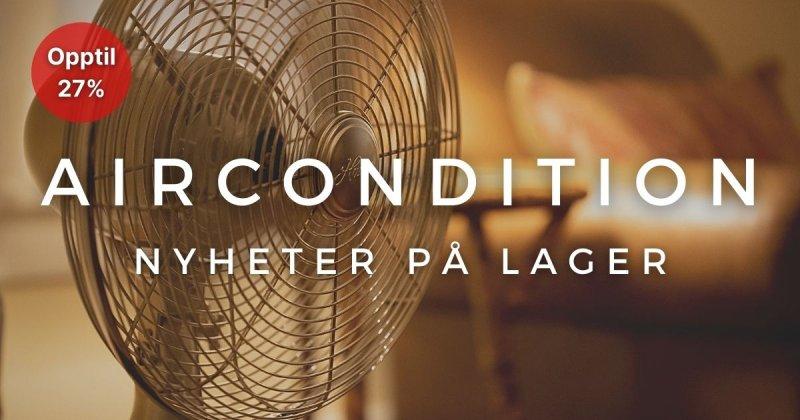 Aircondition - Opptil 27%