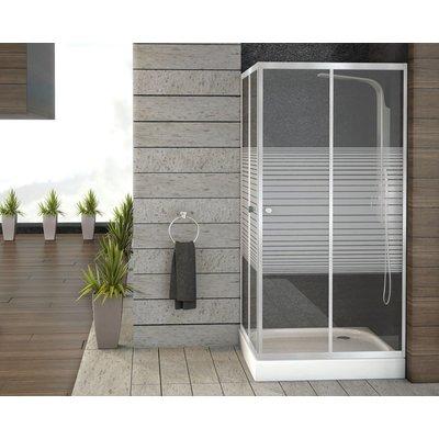Square dusjdører - sikkerhetsglass