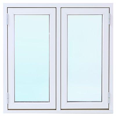 Vindu Aluminium/Tre 3-Lags Sidehengslet - 2-rams - U-verdi 1,1