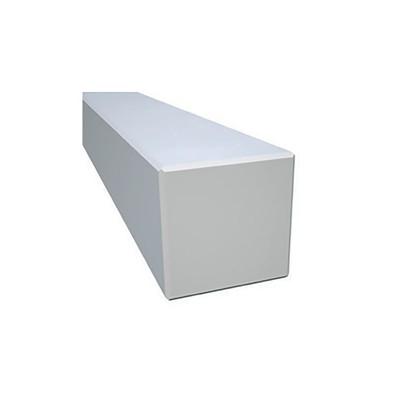 Stolpe limtre 90x90 1 meter - hvit