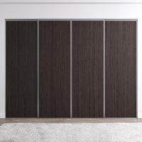 Venedig skyvedør for garderobeskap - 4 dører - Panel - Valgfri farge