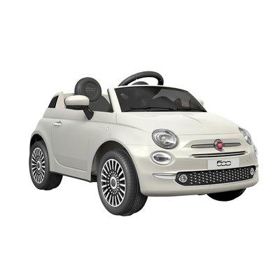 Elbil til barn Fiat 500 - hvit