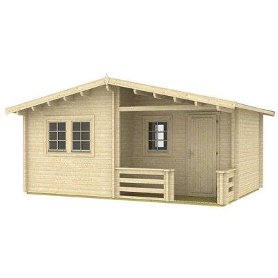 Morgan tømmerhus - 22 m²