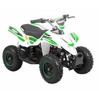 Elektrisk mini-ATV - Hvit og grønn