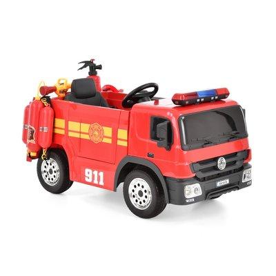 Elbil brannbil