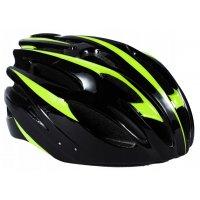 Sykkelhjelm - Svart & grønn